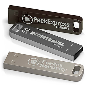USB Stick Solid Alu